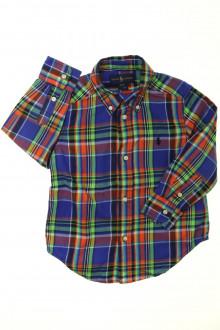 vêtements occasion enfants Chemise à carreaux Ralph Lauren 3 ans Ralph Lauren