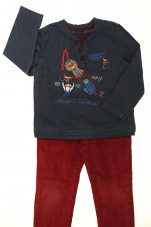 vetement occasion enfants Ensemble pantalon et tee-shirt Sergent Major 4 ans Sergent Major