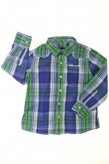 vetement occasion enfants Chemise à carreaux IKKS 4 ans IKKS