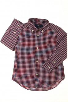 vêtements occasion enfants Chemise à petits carreaux Ralph Lauren 3 ans Ralph Lauren