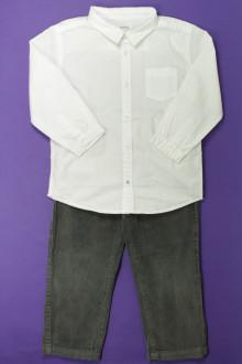 vêtements occasion enfants Ensemble pantalon et chemise Bout'Chou 3 ans Bout'Chou