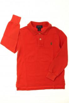 vetements enfants d occasion Polo manches longues Ralph Lauren 3 ans Ralph Lauren