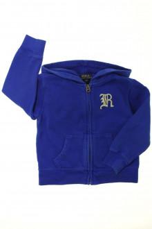 vetement marque occasion Sweat zippé Ralph Lauren 3 ans Ralph Lauren
