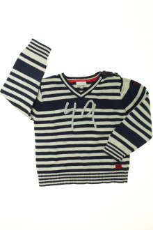 vetement  occasion Pull rayé Absorba 3 ans Absorba