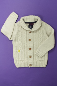vetement occasion enfants Cardigan torsadé Sergent Major 4 ans Sergent Major