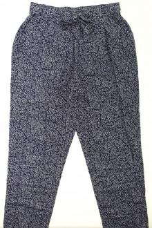 vêtements occasion enfants Pantalon fluide fleuri Cyrillus 12 ans Cyrillus