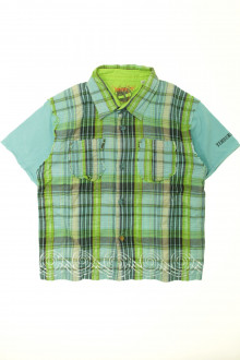 vêtements occasion enfants Chemisette à carreaux Timberland 3 ans Timberland