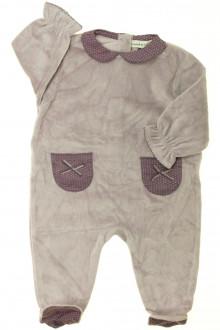 vêtements bébés Pyjama/Dors-bien en velours - NEUF DPAM 3 mois DPAM
