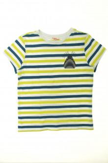 vetements d occasion enfant Tee-shirt rayé manches courtes