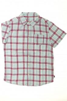 vêtements enfants occasion Chemisette à carreaux Okaïdi 8 ans Okaïdi