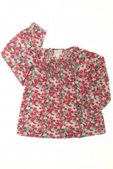 vêtements occasion enfants Blouse fleurie Vertbaudet 4 ans Vertbaudet
