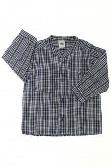 vêtements bébés Chemise à carreaux Petit Bateau 12 mois Petit Bateau
