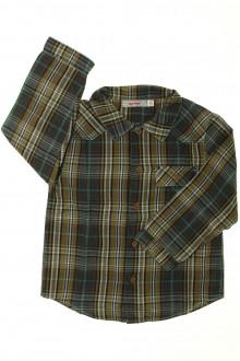 vetement marque occasion Chemise à carreaux Clayeux 4 ans Clayeux