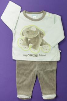 vêtements bébés Pyjama à pieds Obaïbi 6 mois Obaïbi