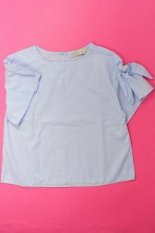 vetement occasion enfants Blouse manches courtes Zara 9 ans Zara