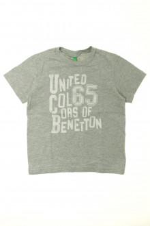 vetements enfant occasion Tee-shirt manches courtes Benetton 5 ans Benetton