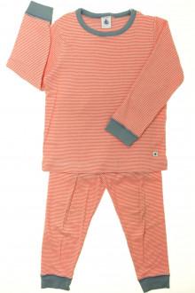 vetement d occasion enfant Pyjama en coton milleraies Petit Bateau 5 ans Petit Bateau