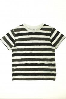 vêtement enfant occasion Tee-shirt rayé manches courtes Zara 6 ans Zara