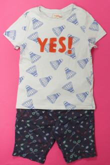 vetement enfants occasion Ensemble bermuda et tee-shirt DPAM 6 ans DPAM