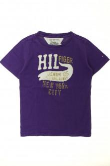 vêtement enfant occasion Tee-shirt manches courtes Tommy Hilfiger 6 ans Tommy Hilfiger