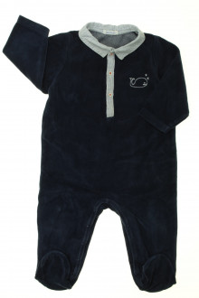 vêtements bébés Pyjama/Dors-bien en velours Bout'Chou 12 mois Bout'Chou