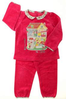 vetements d occasion enfant Pyjama en velours