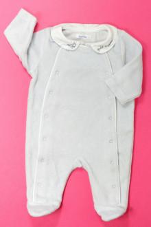 vetement bébé d occasion Pyjama/Dors-bien en velours Bout'Chou 1 mois Bout'Chou