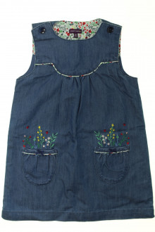 vêtements d occasion enfants Robe en jean brodée Sergent Major 4 ans Sergent Major