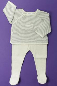 habits bébé Ensemble brassière et pantalon Bout'Chou 1 mois Bout'Chou