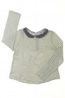 vêtement enfant occasion Tee-shirt rayé manches longues Monoprix 3 ans Monoprix