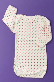 vêtements bébés Body étoilé manches longues Petit Bateau 1 mois Petit Bateau