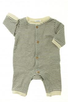vêtements bébés Combinaison rayée Bout'Chou 1 mois Bout'Chou