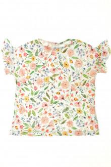 vetement occasion enfants Tee-shirt fleuri manches courtes Zara 4 ans Zara