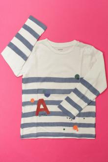 vetements enfants d occasion Tee-shirt rayé manches longues Bout'Chou 3 ans Bout'Chou