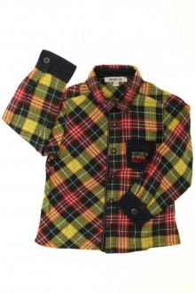vetements enfants d occasion Chemise à carreaux bi-matière Kenzo 3 ans Kenzo