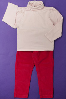 vetement enfant occasion Ensemble pantalon et sous-pull Jacadi 3 ans Jacadi