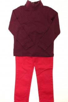 vêtement enfant occasion Ensemble pantalon et sous-pull Jacadi 4 ans Jacadi