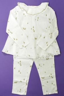 vetement enfant occasion Pyjama de Noël Jacadi 4 ans Jacadi