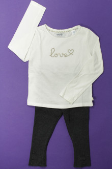 vetement occasion enfants Ensemble legging et tee-shirt Okaïdi 3 ans Okaïdi