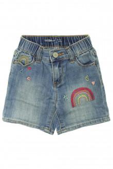 vêtement enfant occasion Short en jean brodé Gap 3 ans Gap