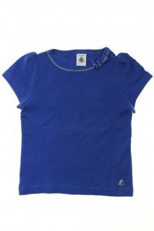 vetements enfants d occasion Tee-shirt manches courtes Petit Bateau 3 ans Petit Bateau