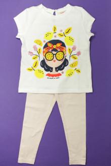 vêtements enfants occasion Ensemble tee-shirt et legging DPAM 4 ans DPAM