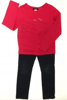 vetement d'occasion enfants Ensemble tregging et tee-shirt Okaïdi 4 ans Okaïdi