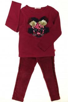 vetement enfant occasion Ensemble pantalon et tee-shirt Billieblush 3 ans Billieblush
