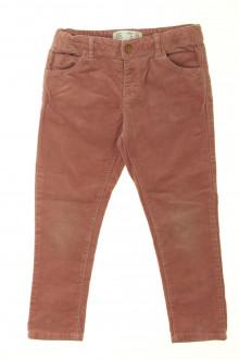 vêtements enfants occasion Pantalon en velours fin Zara 4 ans Zara