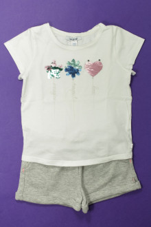 vetement occasion enfants Ensemble short et tee-shirt Okaïdi 4 ans Okaïdi