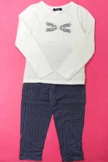 vetement marque occasion Ensemble pantalon et tee-shirt Okaïdi 4 ans Okaïdi