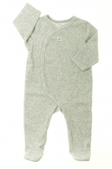 Habit de bébé d'occasion Pyjama/Dors-bien en velours Bout'Chou 9 mois Bout'Chou