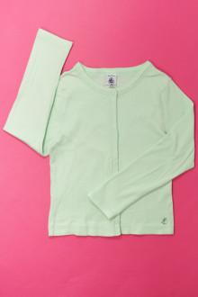 vetements d occasion enfant Tee-shirt manches longues à pressions Petit Bateau 5 ans Petit Bateau