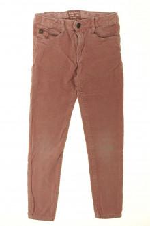 vetement occasion enfants Pantalon en velours ras Zara 7 ans Zara